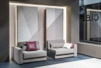 Ella & Louis Twin Wall Bed + Sofa System